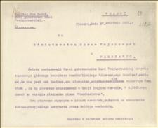Raporty Jana Wadonia do Ministerstwa Spraw Wojskowych