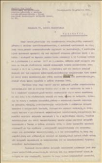 Ostateczne zlikwidowanie strejku górników w rewirze ostrawsko-karwińskim. Zjazd czeskich centralnych związków zawod. - Cieszyn, 31.12.1921 r.