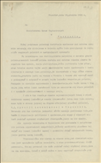 Petycja Zarządu PPS dla Czechosłowacji do MSZ w Warszawie - Frysztat, 12.12.1920 r.