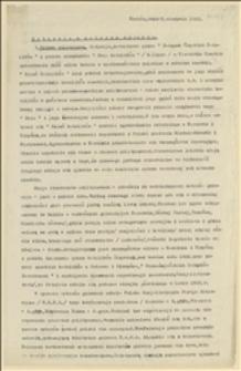 Sytuacja w zaborze czeskim - Kraków, 06.08.1923 r.