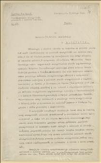 Czechizowanie ewangelików polskich w zaborze czeskim - Cieszyn, 08.02.1922 r.