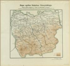 Mapa ogólna Księstwa Cieszyńskiego