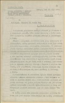 Sprawy słowackie. Memorjał na konferencję genneńską. Prasa według stronictw. Stosunki polsko-słowackie - Cieszyn, 15.05.1922 r.