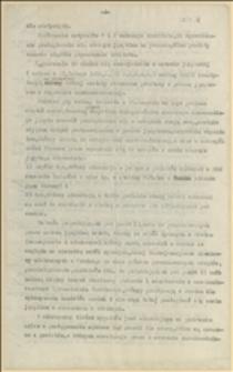 Fragment referatu w sprawie respektowania praw językowych na terenie Czechosłowacji na podstawie traktatu w St. Germain