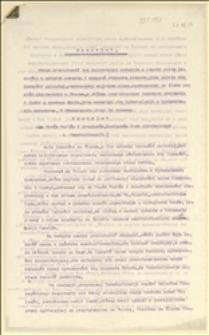 Memoriał dla Panów Posłów i Senatorów, Zastępców ludu niemieckiego w Czechosłowacji - Frysztat, 29.03.1921 r.