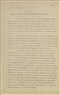 Raport z pobytu w Pradze w czasie od 9 do 11 listopada 1921