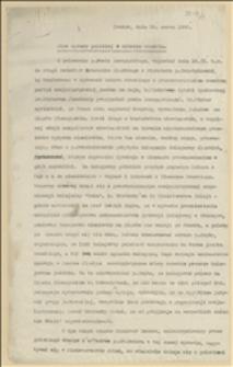 Stan sprawy polskiej w zaborze czeskim - Kraków, 15.03.1923 r.