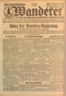 Der Oberschlesische Wanderer, 1925, Jg. 97, Nr. 20