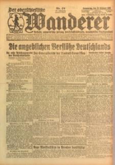 Der Oberschlesische Wanderer, 1925, Jg. 97, Nr. 42