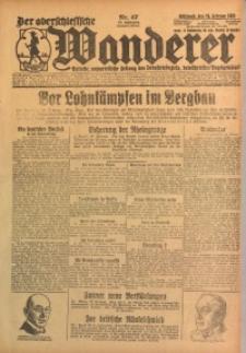Der Oberschlesische Wanderer, 1925, Jg. 97, Nr. 47