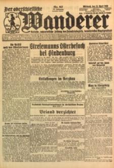 Der Oberschlesische Wanderer, 1925, Jg. 98, Nr. 87