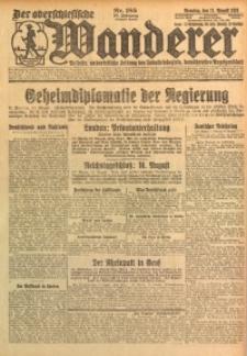 Der Oberschlesische Wanderer, 1925, Jg. 98, Nr. 185