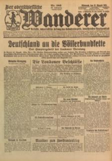 Der Oberschlesische Wanderer, 1925, Jg. 98, Nr. 186