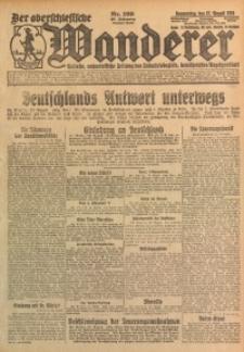 Der Oberschlesische Wanderer, 1925, Jg. 98, Nr. 199
