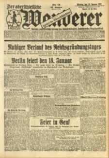 Der Oberschlesische Wanderer, 1931, Jg. 103, Nr. 15