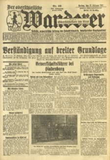 Der Oberschlesische Wanderer, 1931, Jg. 103, Nr. 49