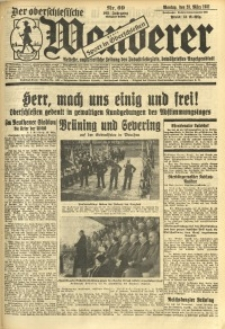 Der Oberschlesische Wanderer, 1931, Jg. 103, Nr. 69