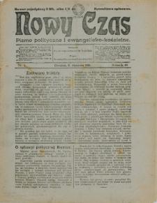 Nowy Czas, 1921, Nry 1-7, 9-15, 17-18, 20-31, 33-47