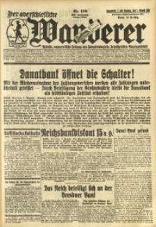 Der Oberschlesische Wanderer, 1931, Jg. 104, Nr. 178