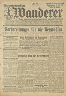 Der Oberschlesische Wanderer, 1930, Jg. 102, Nr. 84