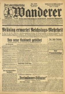 Der Oberschlesische Wanderer, 1931, Jg. 104, Nr. 238
