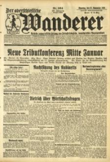 Der Oberschlesische Wanderer, 1931, Jg. 104, Nr. 264