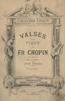 Valses pour piano de Fr. Chopin