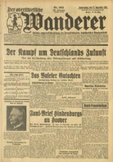 Der Oberschlesische Wanderer, 1931, Jg. 104, Nr. 295