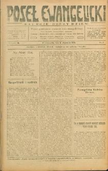 Poseł Ewangelicki, 1918, Nry 1-52