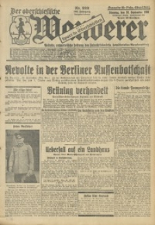 Der Oberschlesische Wanderer, 1930, Jg. 103, Nr. 222