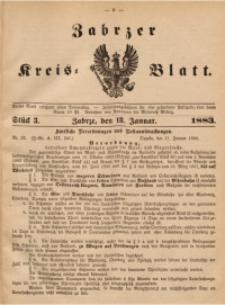 Zabrzer Kreis-Blatt, 1883, St. 3