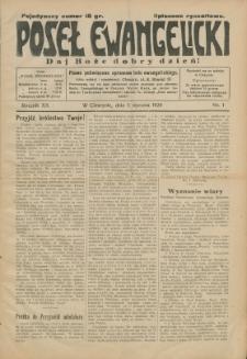 Poseł Ewangelicki, 1929, Nry 1-52