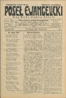 Poseł Ewangelicki, 1931, Nry 1-51
