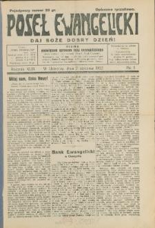 Poseł Ewangelicki, 1933, Nry 1-51