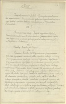 Statut Związku wygnańców śląskich