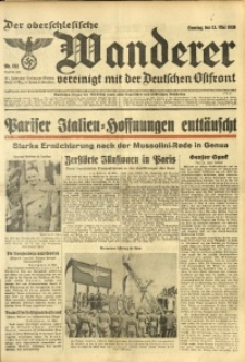 Der Oberschlesische Wanderer, 1938, Jg. 111, Nr. 132
