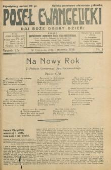 Poseł Ewangelicki, 1938, Nry 1-42