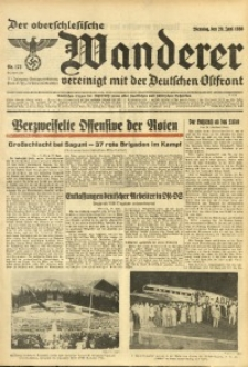 Der Oberschlesische Wanderer, 1938, Jg. 111, Nr. 175