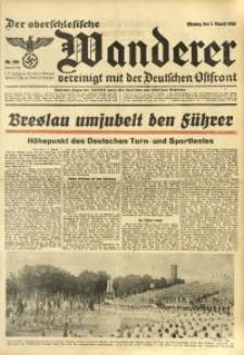 Der Oberschlesische Wanderer, 1938, Jg. 111, Nr. 209