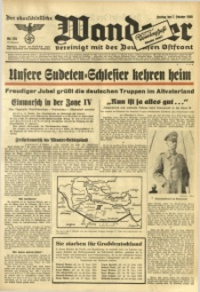 Der Oberschlesische Wanderer, 1938, Jg. 111, Nr. 276