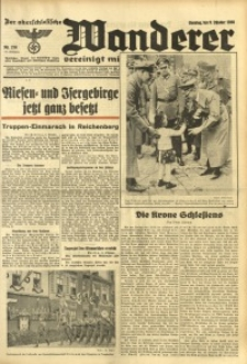 Der Oberschlesische Wanderer, 1938, Jg. 111, Nr. 278