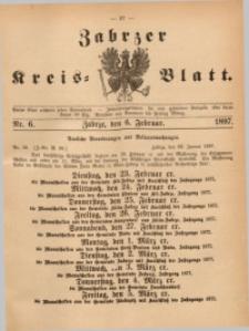 Zabrzer Kreis-Blatt, 1897, St. 6