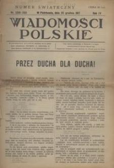 Wiadomości Polskie, 1917, R. 4, nr 158/159