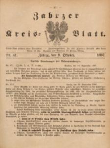Zabrzer Kreis-Blatt, 1897, St. 41