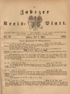 Zabrzer Kreis-Blatt, 1898, St. 19