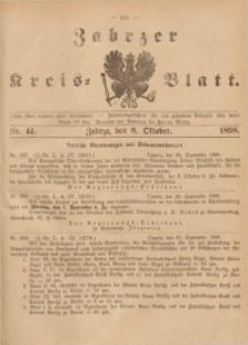 Zabrzer Kreis-Blatt, 1898, St. 41