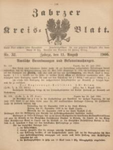 Zabrzer Kreis-Blatt, 1900, St. 32