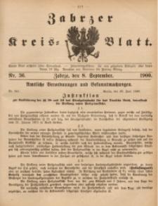 Zabrzer Kreis-Blatt, 1900, St. 36