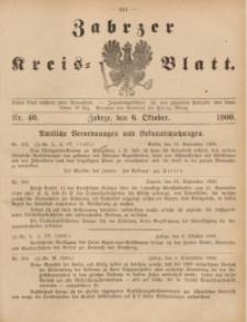 Zabrzer Kreis-Blatt, 1900, St. 39