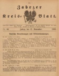 Zabrzer Kreis-Blatt, 1900, St. 46
